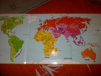 Mon premier atlas de la Terre 1 - Tourbillon - Les lectures de Liyah