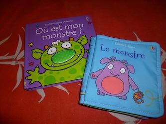 Monstres bébé - Usborne - Les lectures de Liyah