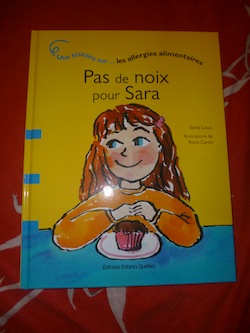Pas de noix pour Sara - Dominique et Cie - Les lectures de Liyah