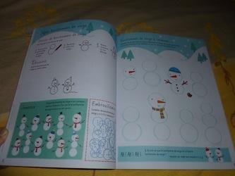 Cahier d'activités de Noel 1 - Usborne - Les lectures de Liyah