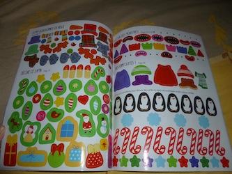 Cahier d'activités de Noel 3 - Usborne - Les lectures de Liyah