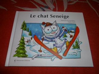 Chat seneige - Balivernes - Les lectures de Liyah