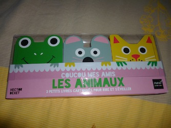 Coucou mes amis Les animaux - Hatier - Les lectures de Liyah