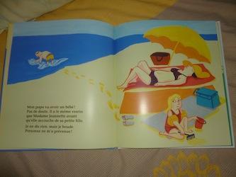 Dans le ventre de papa 1 - Ecole des loisirs - Les lectures de Liyah