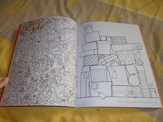 Dessins gribouillages coloriages noel 2 - Usborne - Les lectures de Liyah
