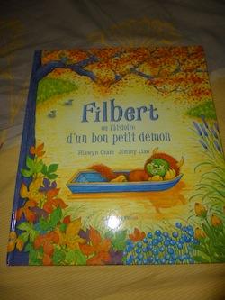 Filbert ou l'histoire d'un bon petit demon - Bayard - Les lectures de Liyah