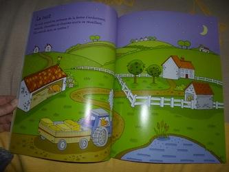 Les animaux autocollants 1 - Usborne - Les lectures de Liyah