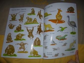 Les animaux autocollants 3 - Usborne - Les lectures de Liyah