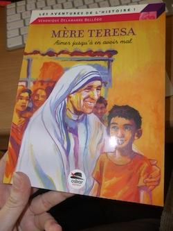 Mere Teresa - Oskar - Les lectures de Liyah