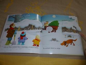 Noel livre puzzle 2 - Usborne - Les lectures de Liyah