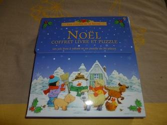 Noel livre puzzle - Usborne - Les lectures de Liyah