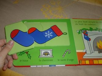 Noel puzzle 2 - Usborne - Les lectures de Liyah