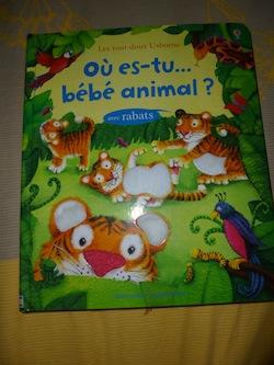 Ou es-tu bébé animal - Usborne - Les lectures de Liyah