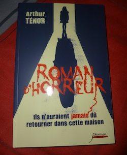 Roman d'horreur - Scrineo - Les lectures de Liyah