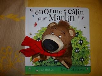 Un enorme calin pour Martin - Larousse - Les lectures de Liyah