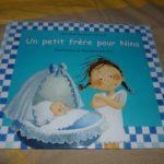 Un petit frere pour Nina 1 - Kaleidoscope - Les lectures de Liyah
