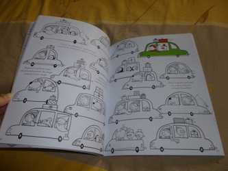 Un tas de choses à trouver noel 2 - Usborne - Les lectures de Liyah