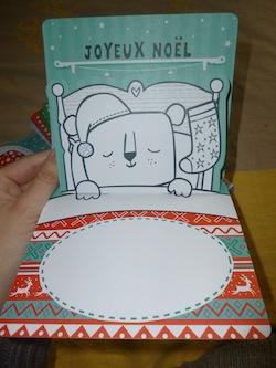 20 cartes pop up a colorier 1 - Usborne - Les lectures de Liyah