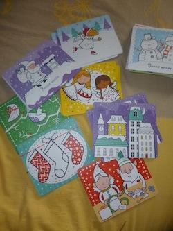 20 cartes pop up a colorier 2 - Usborne - Les lectures de Liyah