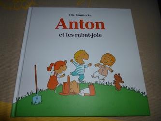Anton et les rabat joie - EDL - Les lectures de Liyah