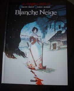 Blanche Neige - Glenat - Les lectures de Liyah