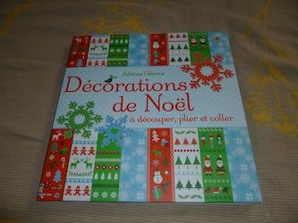 Decorations de Noel - Usborne - Les lectures de Liyah