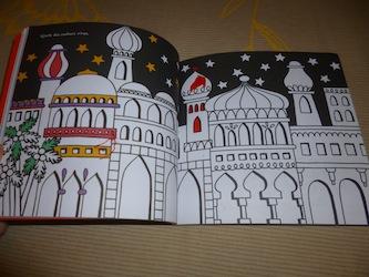 Dessins et coloriages Noel 1 - Usborne - Les lectures de Liyah