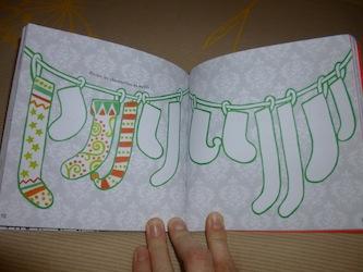 Dessins et coloriages Noel 3 - Usborne - Les lectures de Liyah