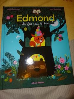 Edmond la fete sous la lune - Nathan - Les lectures de Liyah