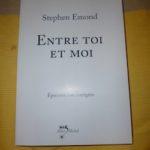 Entre toi et moi - Albin Michel - Les lectures de Liyah
