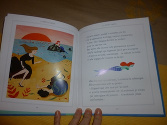 La petite sirene 1 - Nathan - Les lectures de Liyah