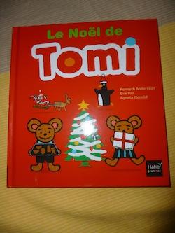 Le noel de Tomi - Hatier - Les lectures de Liyah