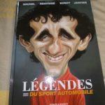 Legendes du sport automobile - Glenat - Les lectures de Liyah