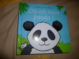 Ou es tu petit panda - Usborne - Les lectures de Liyah