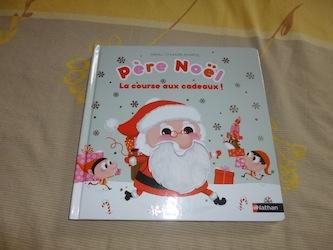 Pere Noel La course aux jouets - Les lectures de Liyah
