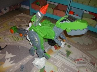 Switch & Go Dinos - Tyranex le Giga T-Rex 1 - Les lectures de Liyah
