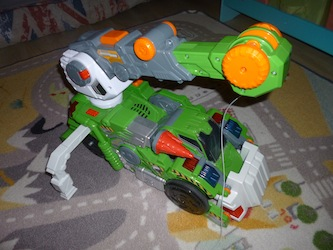 Switch & Go Dinos - Tyranex le Giga T-Rex 2 - Les lectures de Liyah