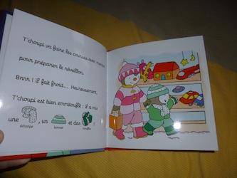 T'choupi fete Noel 1 - Nathan - Les lectures de Liyah