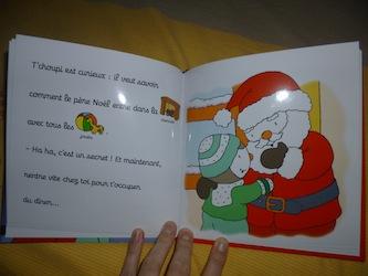 T'choupi fete Noel 2- Nathan - Les lectures de Liyah