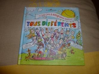 Tous differents - Les p'tits braques - Les lectures de Liyah