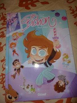Livre pour enfants Bichon - Glenat - Les lectures de Liyah