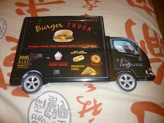 Burger truck - Larousse - Lectures de Liyah