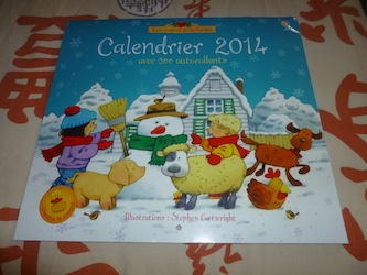 Calendrier 2014 - Usborne - Les lectures de Liyah