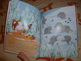 Elmer et papa rouge 2 - EDL - Les lectures de Liyah