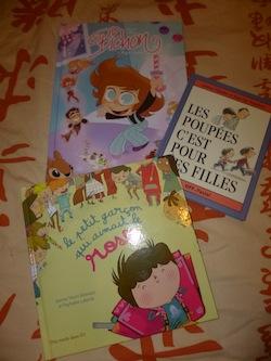 Garcons filles - Les lectures de Liyah