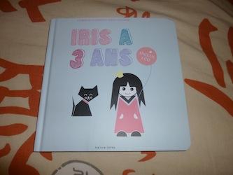 Iris a 3 ans - Naive - Les lectures de Liyah