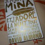 Je m'appelle Mina - Gallimard - Les lectures de Liyah
