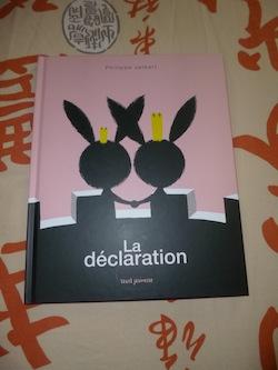 La declaration - Seuil - Les lectures de Liyah