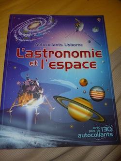 L'astronomie et l'espace - Usborne - Les lectures de Liyah