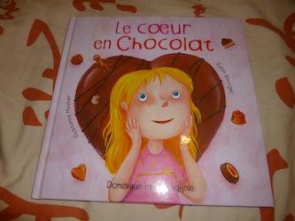 Le coeur en chocolat - Dominique et cie - Les lectures de Liyah